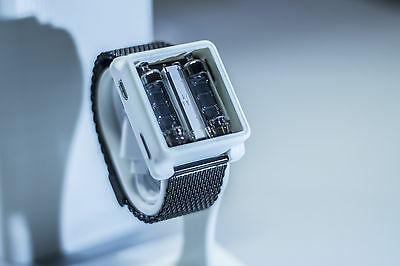 """The Watch (""""nixie"""" wristwatch) - new, self-made watch with numitron tubes IV-9"""