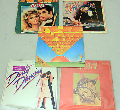 MOVIE/ Theatre SOUNDTRACKS Vinyl Collection DIRTY DANCING, GREASE -250