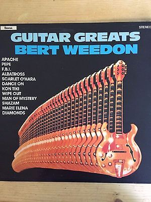 "Bert Weedon ‎– Guitar Greats 1979 UK 12"" Vinyl LP: FREE POSTAGE"