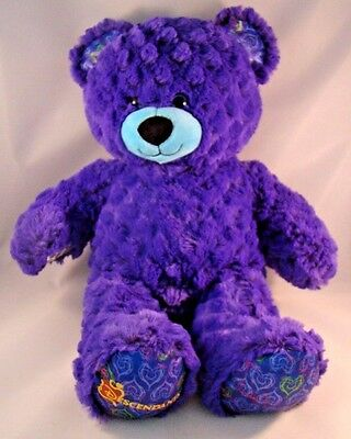 Build A Bear Disney Descendants Purple Plush Stuffed Animal BABW