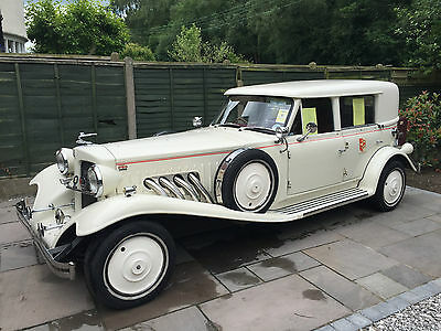 A beautiful Beauford, 4 door, 2.4 Nissan engine with 38,881 miles, in Old Engli