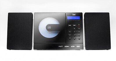 Dual Vertical 150  Audio System Schwarz Wandmontage/Stand USB/SD/MP3/CD/ B-WARE