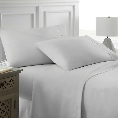 Premium Hotel Quality 4 Piece Deep Pocket Bed Sheet Set by Egyptian Comfort