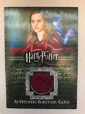 Harry Potter Trading Card Emma Watson as Hermione Order of the Phoenix Costume