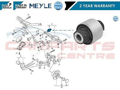 For Vw Rear Axle Lower Control Suspension Arm Inner Bush Meyle Germany