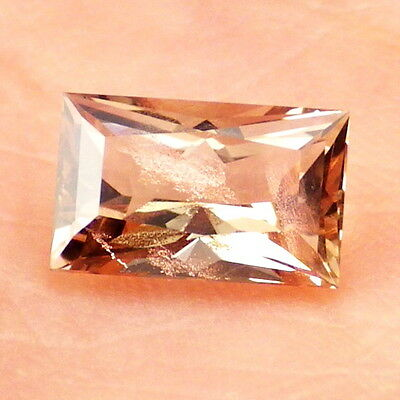 PINK SCHILLER OREGON SUNSTONE 1.41Ct FLAWLESS-FROM PANA MINE-FOR JEWELRY!