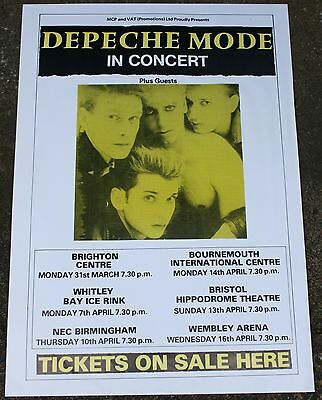 Depeche Mode In Concert Large Poster  24 x 18 Inch