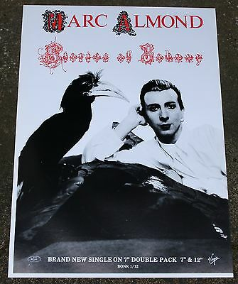 Marc Almond Soft Cell Large Poster  24 x 18 Inch