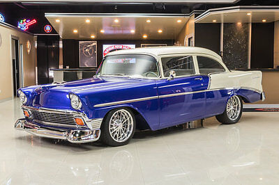 1956 Chevrolet Bel Air/150/210  Frame Off, Rotisserie Build! GM 502ci RamJet V8, 700R4 Automatic, PS, PB, A/C