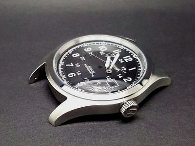 Hamilton Khaki Gents Automatic 42 Mm Watch Complete Case Black Dial