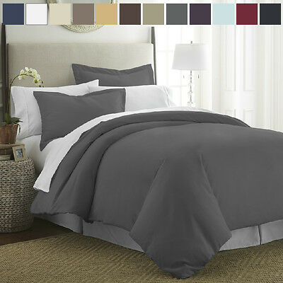 The Home Collection Premium Quality Ultra-Soft 3 Piece Duvet Cover Set