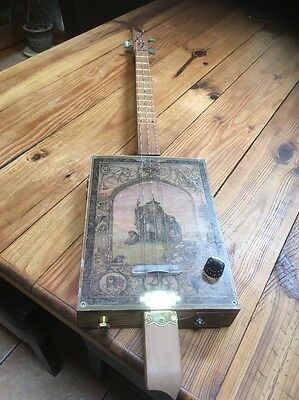 3 String  Hollow Body/cigarbox style guitar.