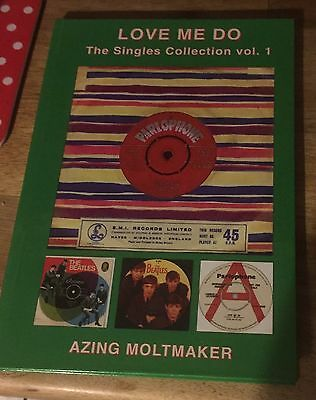 THE BEATLES - Love Me Do - The Singles Collection Vol 1 Book  - NEW Condition