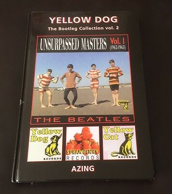 THE BEATLES -The Bootleg Collection Book - Yellow Dog - New