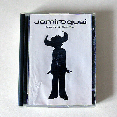 Jamiroquai Emergency On Planet Earth Mini Disc Album, Very Rare, Please Read