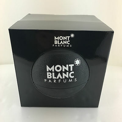 Mont Blanc Parfums Basketball Black New in Box FREE SHIPPING