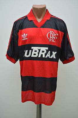 Flamengo Brazil 1990/1991/1992 Home Football Shirt Jersey Camiseta Adidas