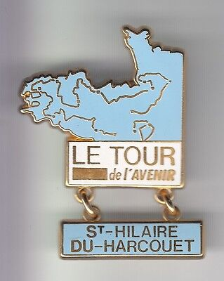 Rare Pins Pin's .. Velo Cyclisme Cycling Tour De France Avenir Manche 50 ~C7