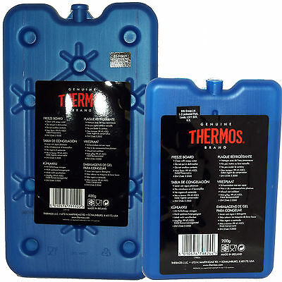 Thermos Cool Bag Freeze Board Ice Pack Bag Cooler 200g, 400g Or 2 x 100 or 200g