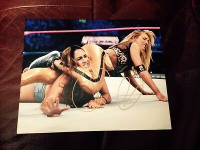 wwe carmella signed autographed 8x10 photo with proof rare