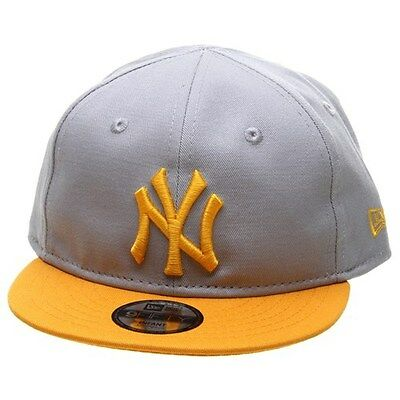 New Era Infant Essential 9FIFTY Snapback Cap - NY Yankees Grey/Gold