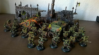 Deathguard army painted