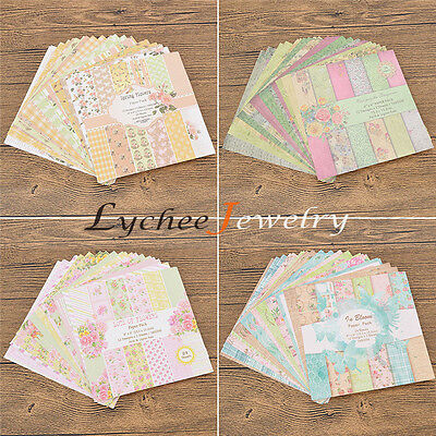 1 Set DIY Origami Paper Folding Pads for Scrapbooking Gifts Packing Cardmaking