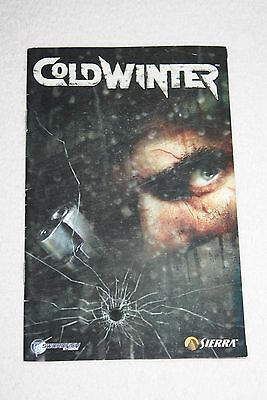 ++ notice mode d'emploi sony playstation 2 ps2 COLD WINTER ++