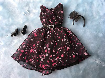Barbie 'The Look' Tea Party Outfit Black Label * Very Good Condition