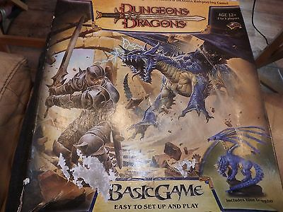 Dungeons and Dragons (D&D) Basic Game, 2006, Blue Dragon, Complete.