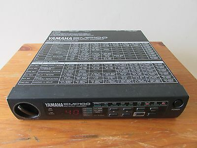 YAMAHA EMP100 1/2 Rack Digital Multi Effects FX Processor with original adapter