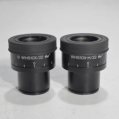 Olympus Whs10X/22 30Mm Focusable Microscope Eyepiece Pair