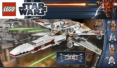 Der legendäre LEGO Star Wars - 9493 X-wing Starfighter