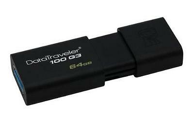 Kingston Technology Datatraveler 100 G3 Clé Usb 3.0 64