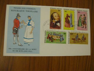 1979 TOGO FIRST DAY COVER, SIR ROWLAND HILL,  ONLY £0.99p  POST PAID