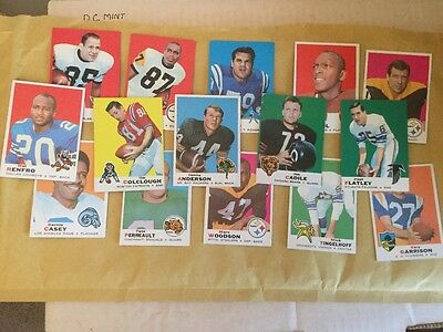 1969 Topps American NFL Football Cards - Great shape! (15)