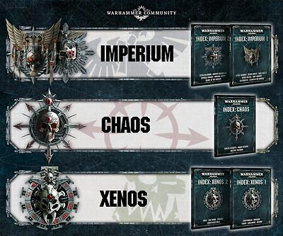 Index: Chaos Warhammer 40,000 40k 8th Edition (New, Preorder)