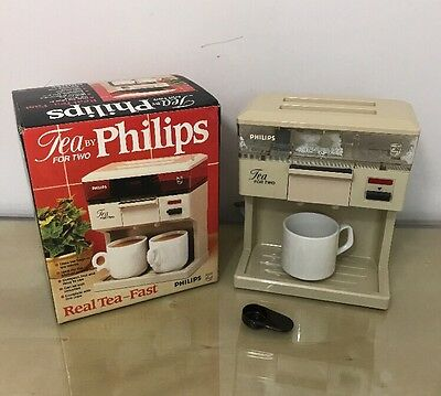 Vintage Retro 1980s Philips HD5175 Tea For Two Teasmade - Real Tea Fast!