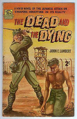 The Dead and the Dying, John E Lambert, Badger Books WW58 Year 1958