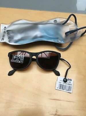 Cebe Child Black With Brown Lens Sunglasses
