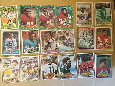 1980s Topps American NFL Football Cards - Great shape! (18)