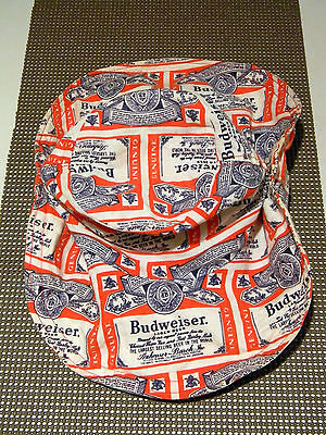 RARE Vintage Cool 1970's Budweiser Beer Safari Outback Floppy Cowboy Party Hat