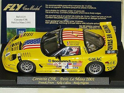 FLY A125. CORVETTE CR5. Petite Le Mans 2001. Used/Tested. Mint Condition.