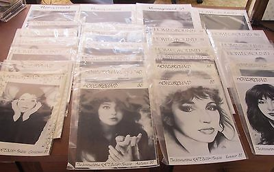 Kate Bush HOMEGROUND zines 37 different issues to choose from! *FREE SHIP (U.S.)