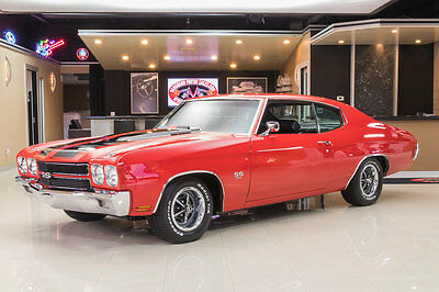 1970 Chevrolet Chevelle  Documented SS LS5! GM 454ci V8, TH400 Automatic, PS, PB, A/C, Original Colors!