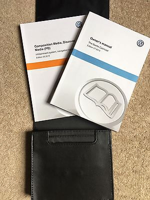 The New Vw Beetle (A5) Cabriolet Owners Manual Handbook Inc Nav & Wallet