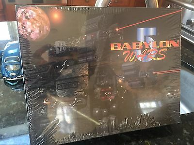 Vintage 1997 Babylon 5 Wars Miniatures Game Sealed Nos Nrfb Sealed