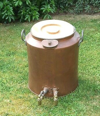 Antique Copper Water Boiler with inter liner