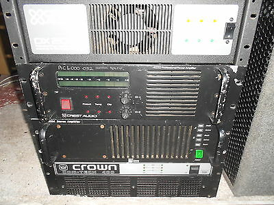 Crest 4000 Power Amplifier