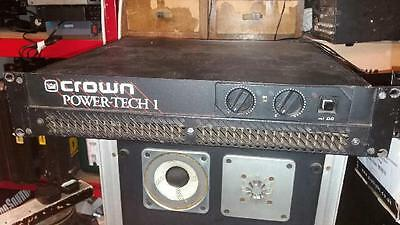Crown Power Tech One Power Amplifier.